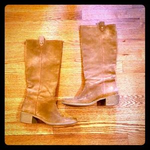 kate spade Suede Riding Boot - size 8 1/2